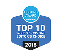 Top 10 Webhosting Award