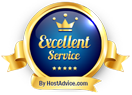 RHC Hosting - Excellent Service Award from HostAdvice
